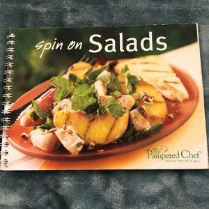 Pampered Chef Spin on Salad Cookbook